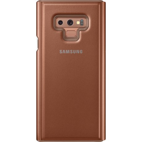 Чехол Clear View Standing Cover для Samsung Galaxy Note 9 Brown (EF-ZN960CAEGRU)