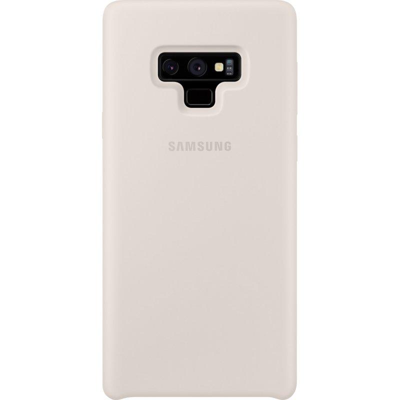 Накладка Silicone Cover для Samsung Galaxy Note 9 Ivory (EF-PN960TWEGRU)