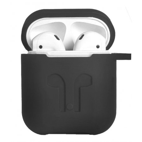 Чехол Silicone Case для Apple AirPods Dark Gray