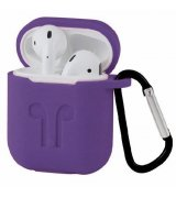 Чехол Silicone Case для Apple AirPods Ultra Violet