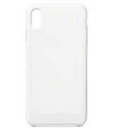 Накладка Silicone Case для Apple iPhone XR White