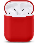 Чехол Ultra Slim Silicone Case для Apple AirPods Red
