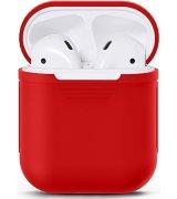Чехол Ultra Slim Silicone Case для Apple AirPods Red