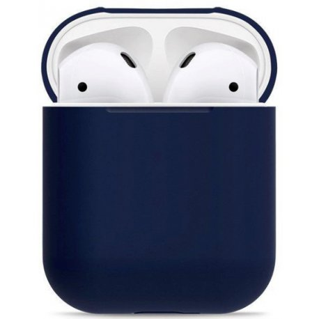 Чехол Ultra Slim Silicone Case для Apple AirPods Blue Horizon