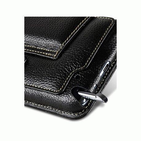 Кожаный чехол Melkco Kios Type для Samsung Galaxy Note N7000