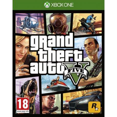 Игра Grand Theft Auto V (GTA 5) для Microsoft Xbox One (русские субтитры)