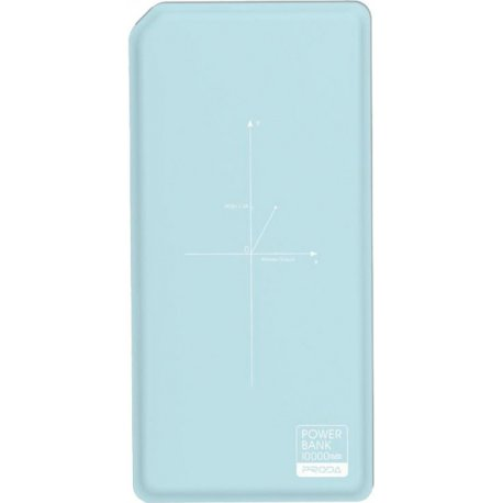 Remax Proda Power Bank Chicon Qi 10000 mAh Blue/White (PPP-33-BLUE+WHITE)