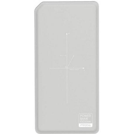 Remax Proda Power Bank Chicon Qi 10000 mAh Grey/White (PPP-33-GREY+WHITE)