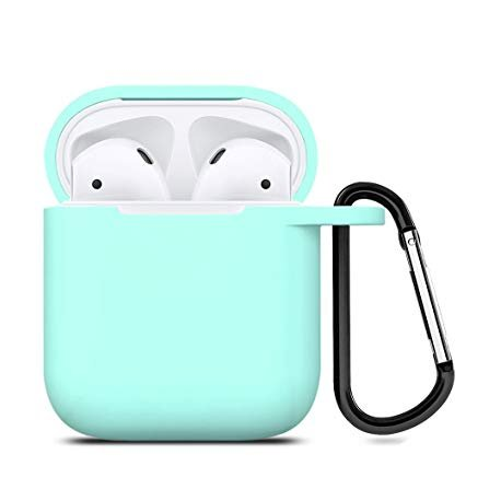 Чехол Ultra Slim Silicone Case для Apple AirPods Marine Green