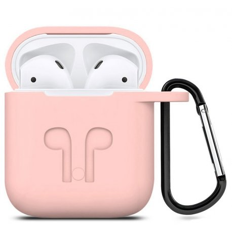 Чехол Silicone Case для Apple AirPods Pink