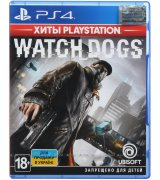 Игра Watch Dogs - Хиты PlayStation (PS4, Русская версия)