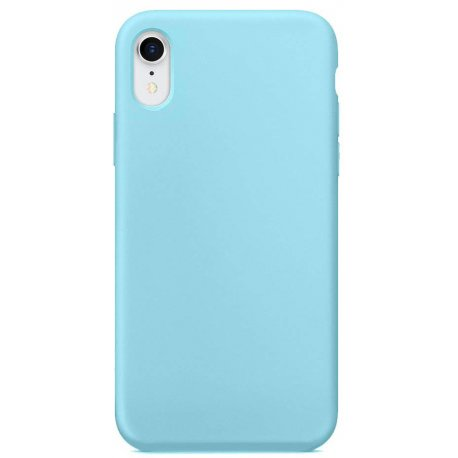 Накладка Silicone Case для Apple iPhone XR Marine Green