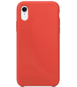 Накладка Silicone Case для Apple iPhone XR Coral