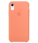 Накладка Silicone Case для Apple iPhone XR Peach