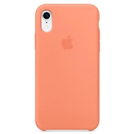 Накладка Silicone Case для Apple iPhone XR Peach