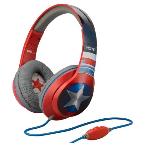 Наушники eKids/iHome MARVEL Captain America