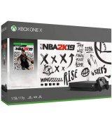 Microsoft Xbox One X 1TB + NBA 2K19