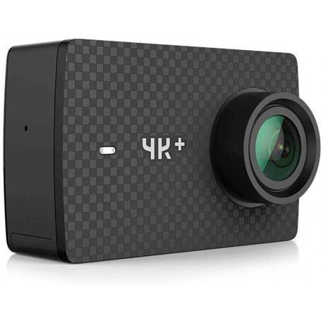 Экшн-камера Xiaomi YI 4K Plus + Водонепроницаемый бокс Black (YI-91107)