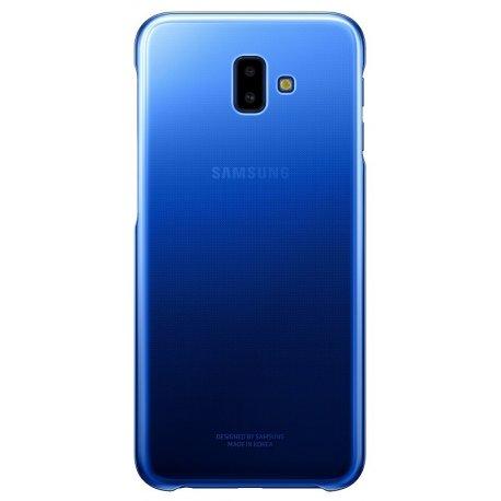 Чехол Gradation Cover для Samsung Galaxy J6 Plus 610 Blue (EF-AJ610CLEGRU)