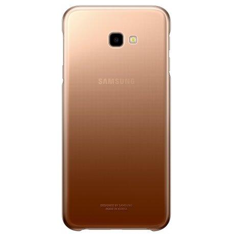 Чехол Gradation Cover для Samsung Galaxy J4 Plus J415 Gold (EF-AJ415CFEGRU)