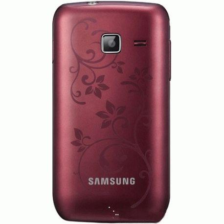 Samsung Wave Y S5380 La Fleur Wine Red