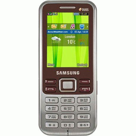 Samsung C3322 Duos Wine Red