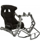 Игровое гоночное кресло Playseat Sensation Pro с креплением для руля и педалей и стойкой для ТВ Metallic (RSP.00102)