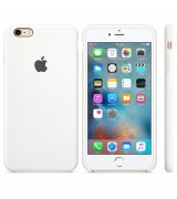 Чехол Apple iPhone 6s Plus Silicone Case White (MKXK2)