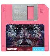 Внешний аккумулятор Remax PowerBank Floppy Disk 5000 mAh Pink