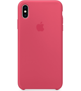 Чехол Apple iPhone XS Max Silicone Case Hibiscus MUJP2