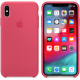 Чехол Apple iPhone XS Max Silicone Case Hibiscus MUJP2