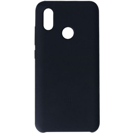 Накладка Silicone Case для Xiaomi Mi 8 Black