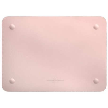 Чехол WIWU Skin Pro Leather Sleeve для MacBook Air 13 Pink
