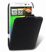 Кожаный чехол Melkco Flip (JT) для HTC Sensation XL (X315E) Black