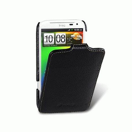 Кожаный чехол Melkco Flip (JT) для HTC Sensation XL (X315E)