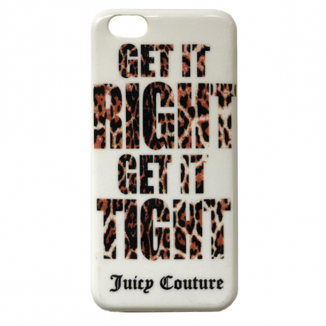 Накладка Juicy Couture для iPhone 6 White
