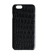 Накладка Crocodile Leather Cover для Apple iPhone 6 Black