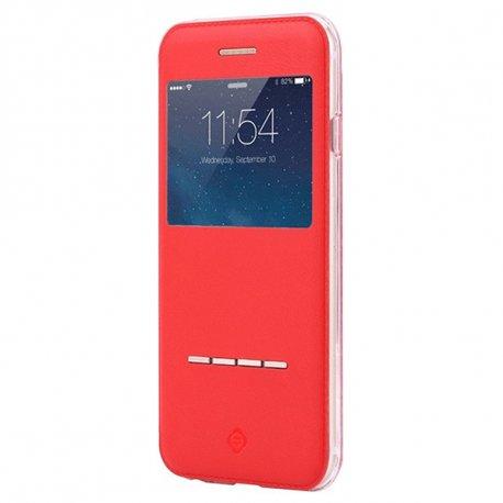 Накладка Cleaning Cloth Book для Apple iPhone 6 Plus Red