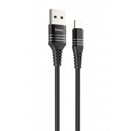 Кабель Hoco U46 Tricyclic Type-C cable 1m Black