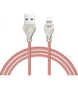 Кабель Hoco U25 Lightning Cable (1m) Rose Gold