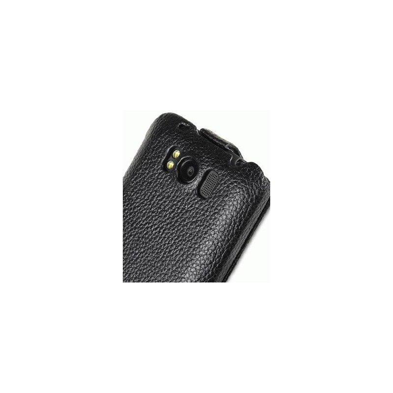 Кожаный чехол Melkco Flip (JT) для HTC Titan X310E