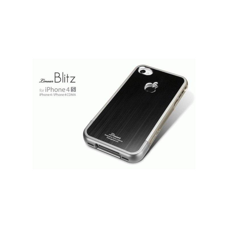 SGP iPhone 4/4s Case Linear Blitz Series Black