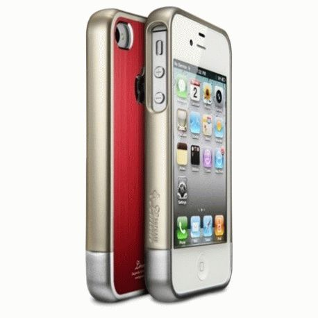 SGP iPhone 4/4s Case Linear Blitz Series Red
