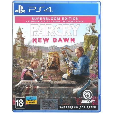Игра Far Cry. New Dawn. Superbloom Edition для Sony PS 4 (русская версия)