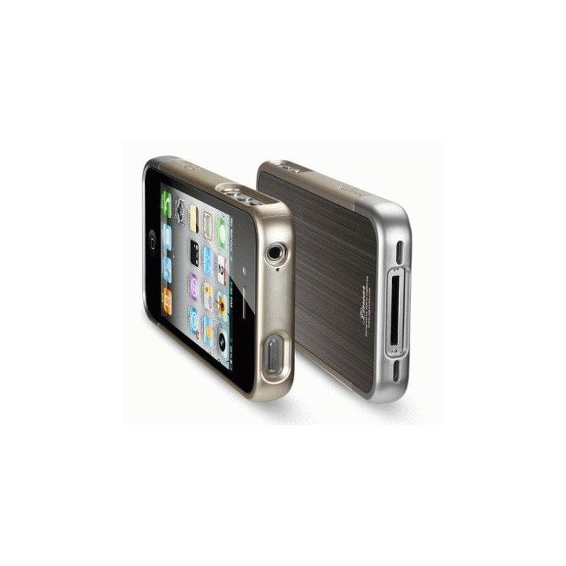 SGP iPhone 4/4s Case Linear Blitz Series Gun Metal