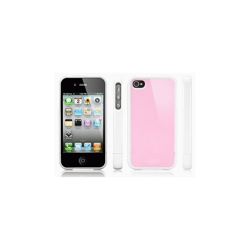 SGP iPhone 4/4s Case Linear Color Series Sherbet Pink