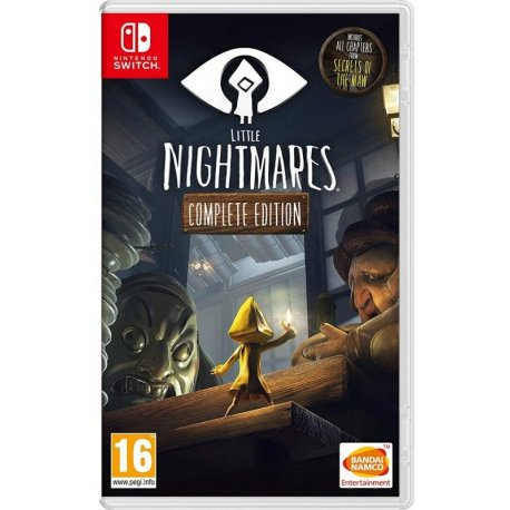 Игра Little Nightmares: Complete Edition для Nintendo Switch (русские субтитры)