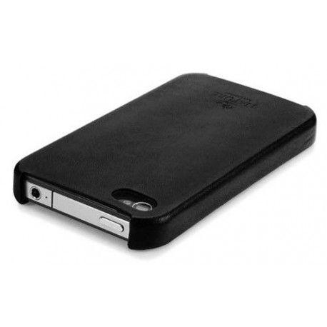 SGP iPhone 4 Case Nature Just Leather Case Black