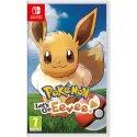 Игра Pokémon: Let's Go, Eevee! (Nintendo Switch, Английская версия)