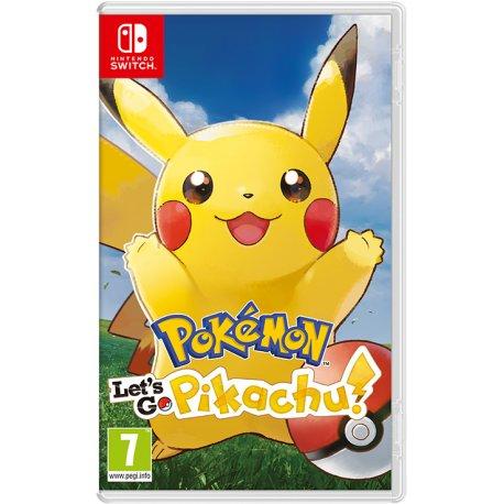 Игра Pokémon: Let's Go, Pikachu! для Nintendo Switch (английская версия)